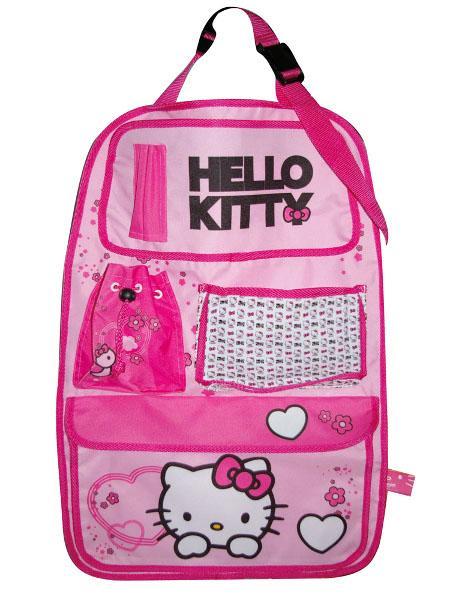 Kapsář do auta - Hello Kitty - růžová