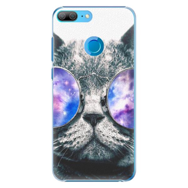 Plastové pouzdro iSaprio - Galaxy Cat - Huawei Honor 9 Lite