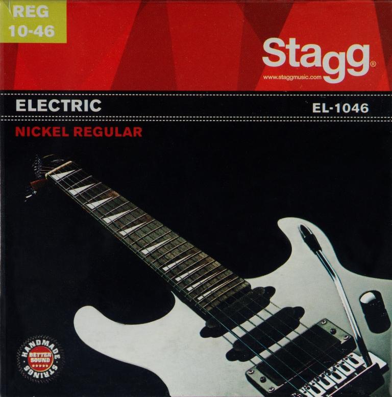 Stagg EL-1046, sada strun pro elektrickou kytaru