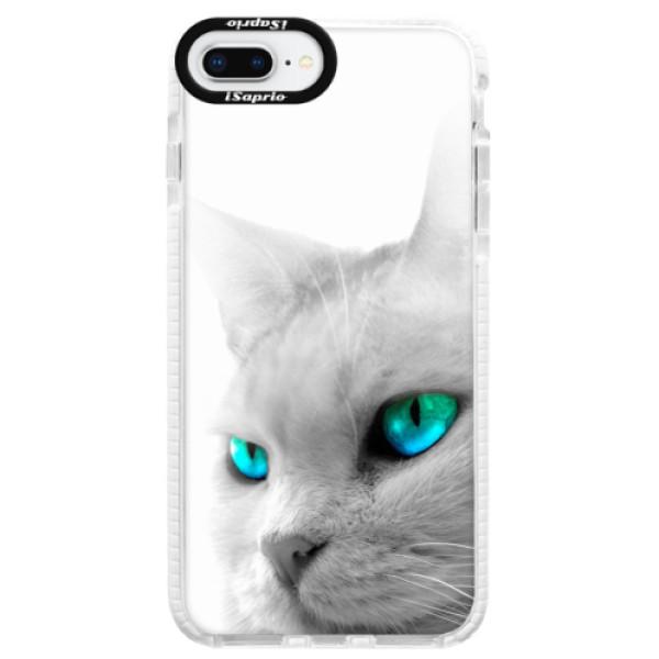 Silikonové pouzdro Bumper iSaprio - Cats Eyes - iPhone 8 Plus