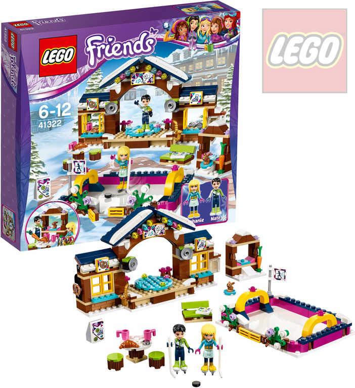 LEGO FRIENDS Kluziště v zimním středisku 41322 STAVEBNICE