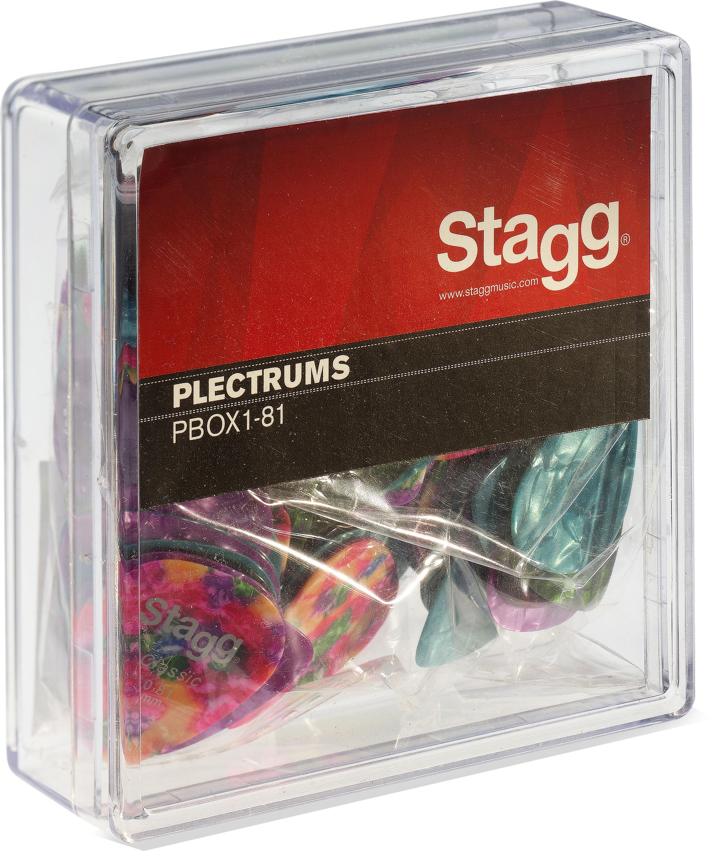 Stagg PBOX1-81, krabice trsátek 100ks, 0.81mm