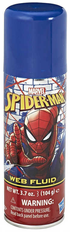 HASBRO Pistole na pavučinu Spiderman set s náplní a nádobkou na vodu