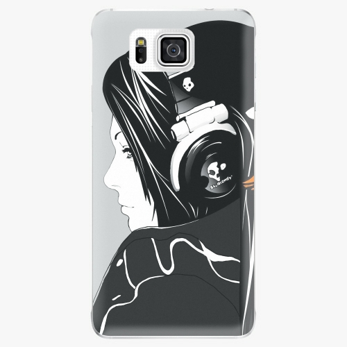 Plastový kryt iSaprio - Headphones - Samsung Galaxy Alpha