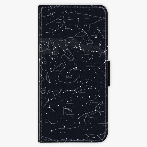 Flipové pouzdro iSaprio - Night Sky 01 - Samsung Galaxy S7 Edge