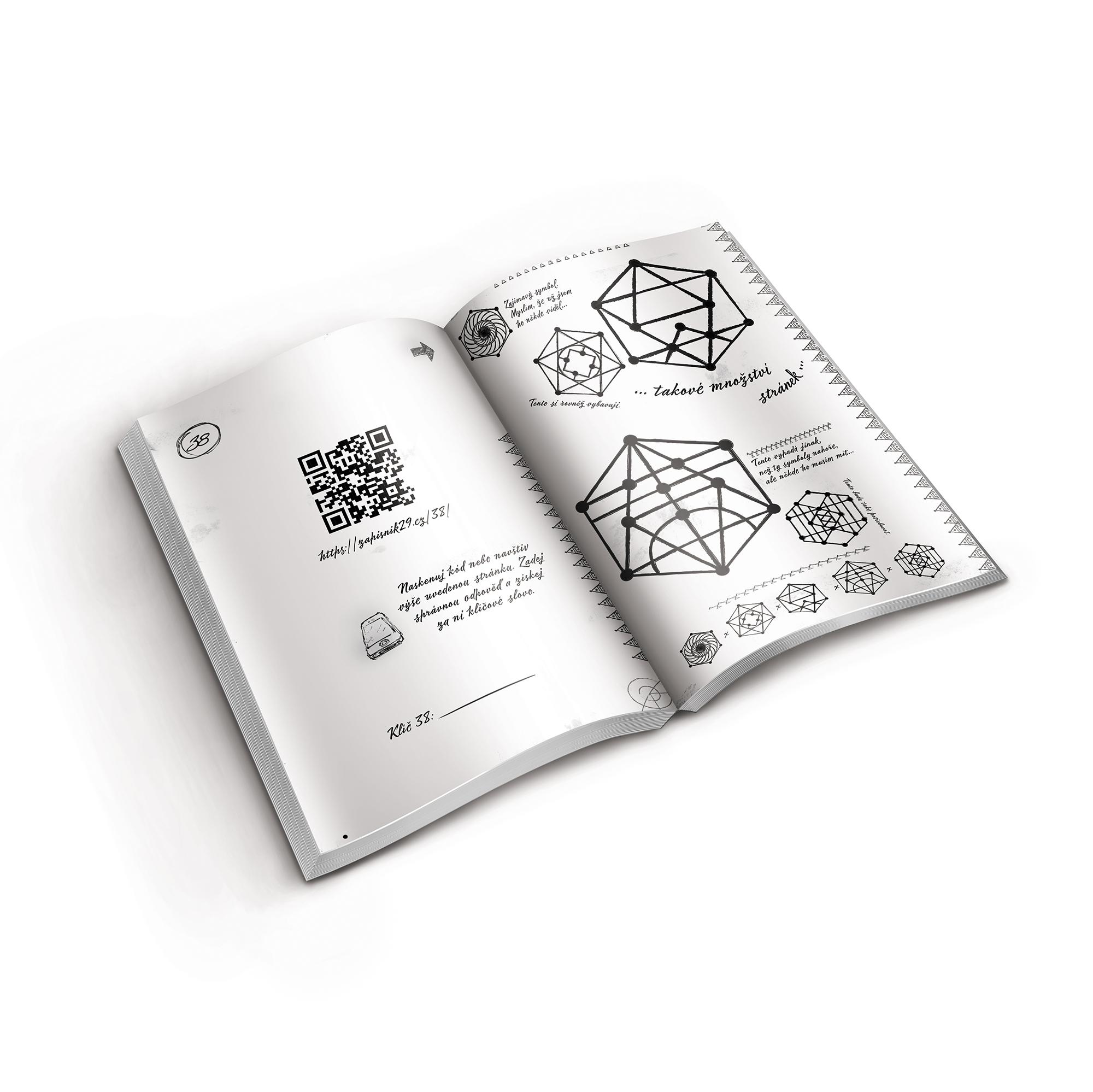 Kniha EXIT - Zápisník 29
