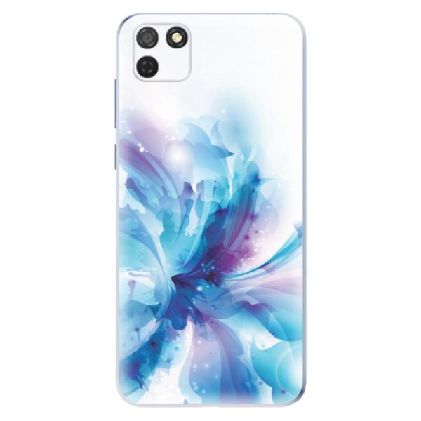 Odolné silikonové pouzdro iSaprio - Abstract Flower - Honor 9S