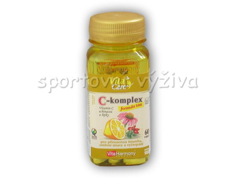 C-komplex formula 500 60tab + šípky,echinacea