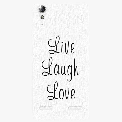 Plastový kryt iSaprio - Live Laugh Love - Lenovo A6000 / K3