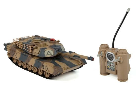 RC tank Abrams 1/24 - infra střely