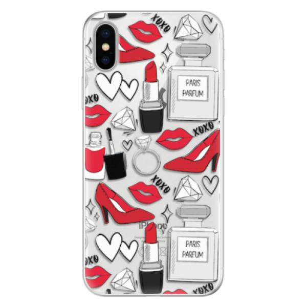 Silikonové pouzdro iSaprio - Fashion pattern 03 - iPhone X