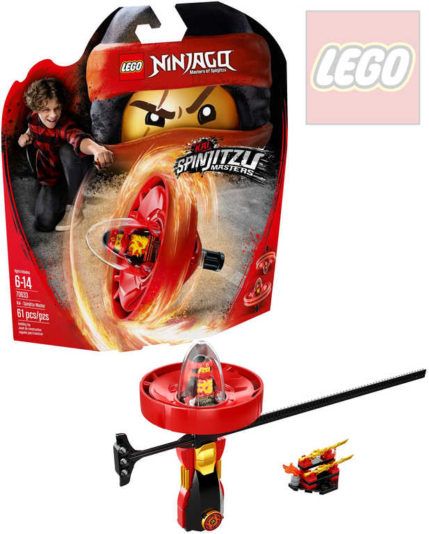 LEGO NINJAGO Kai - Mistr Spinjitzu STAVEBNICE 70633
