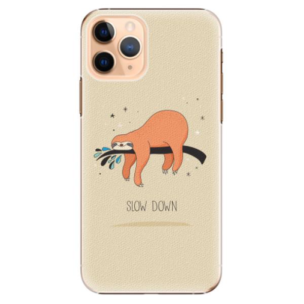 Plastové pouzdro iSaprio - Slow Down - iPhone 11 Pro