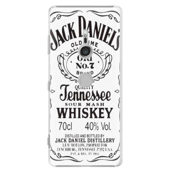 Plastové pouzdro iSaprio - Jack White - Sony Xperia XZ3