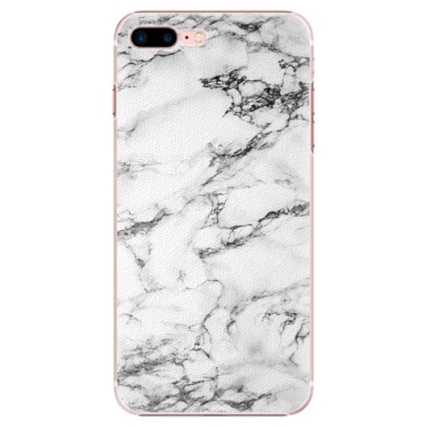 Plastové pouzdro iSaprio - White Marble 01 - iPhone 7 Plus