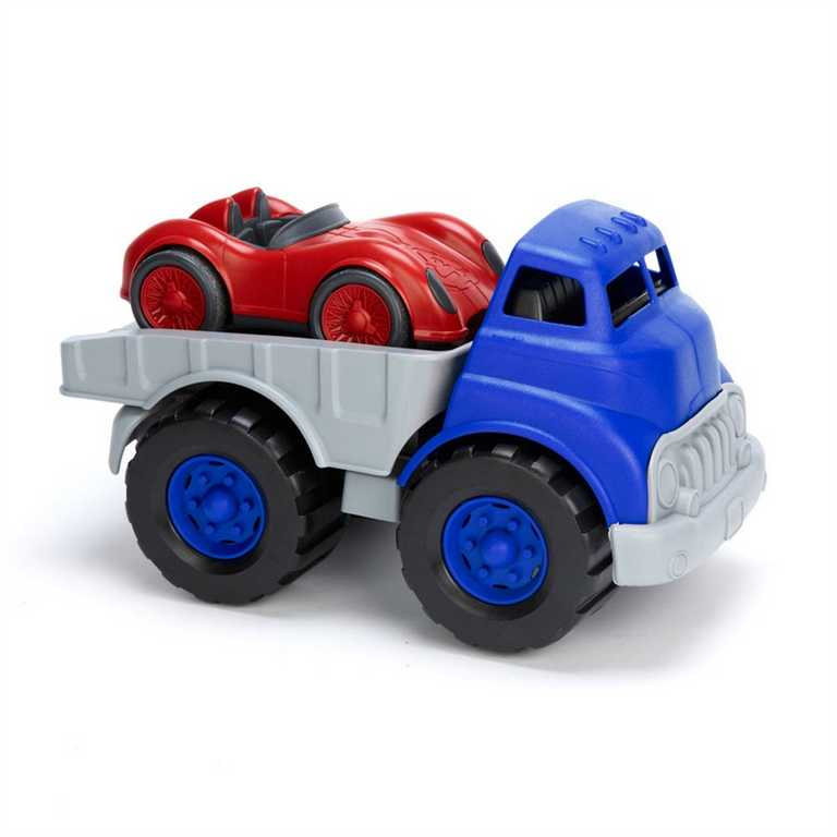 Green Toys Nákladní auto se závodním autem