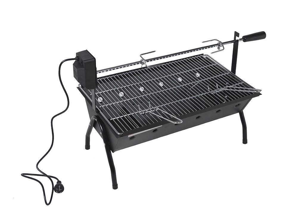 Gril Barbecue s motorem, 86 x 41 x 51 cm
