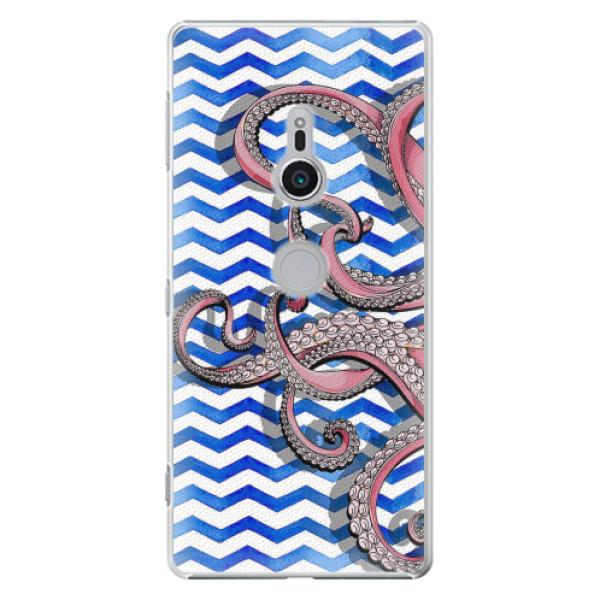 Plastové pouzdro iSaprio - Octopus - Sony Xperia XZ2