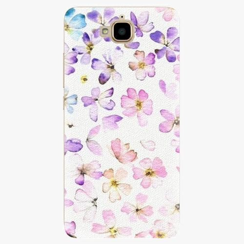 Plastový kryt iSaprio - Wildflowers - Huawei Y6 Pro