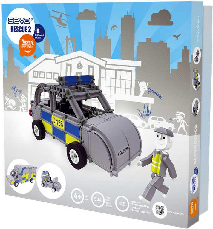 VISTA SEVA RESCUE 2 Policie polytechnická STAVEBNICE 534 dílků