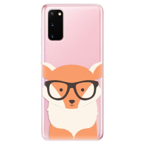 Odolné silikonové pouzdro iSaprio - Orange Fox - Samsung Galaxy S20