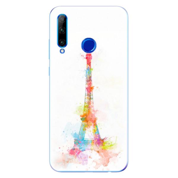 Odolné silikonové pouzdro iSaprio - Eiffel Tower - Huawei Honor 20 Lite