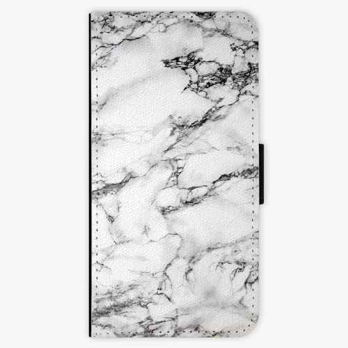Flipové pouzdro iSaprio - White Marble 01 - iPhone 7 Plus