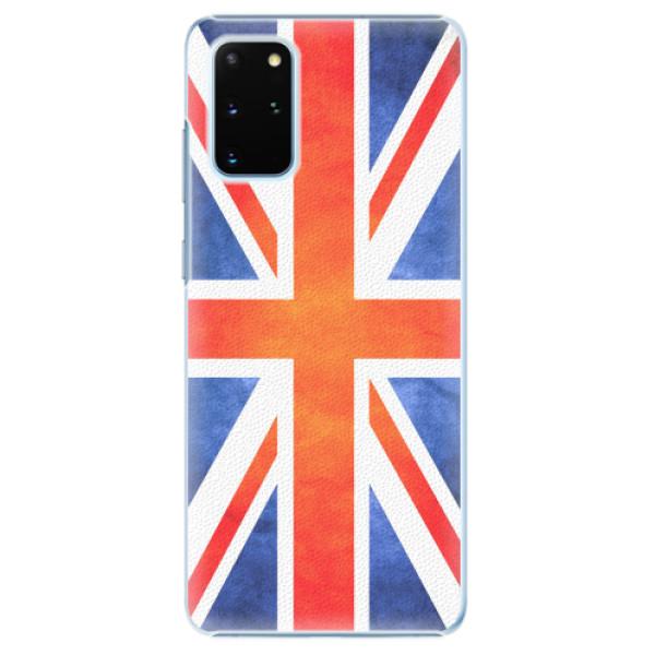Plastové pouzdro iSaprio - UK Flag - Samsung Galaxy S20+
