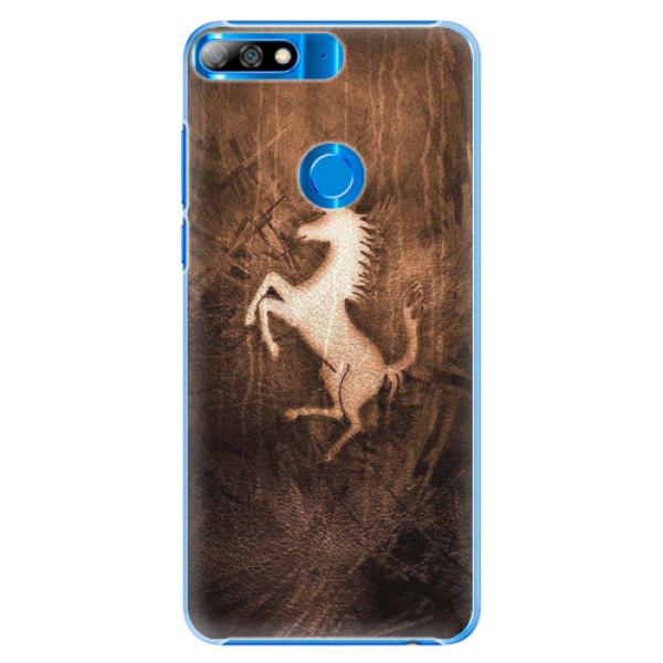 Plastové pouzdro iSaprio - Vintage Horse - Huawei Y7 Prime 2018