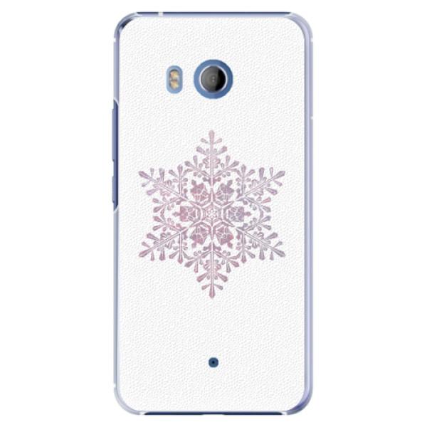 Plastové pouzdro iSaprio - Snow Flake - HTC U11