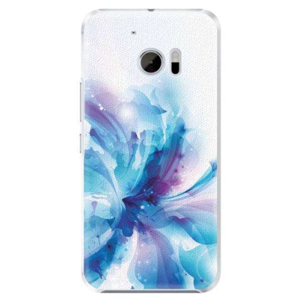 Plastové pouzdro iSaprio - Abstract Flower - HTC 10