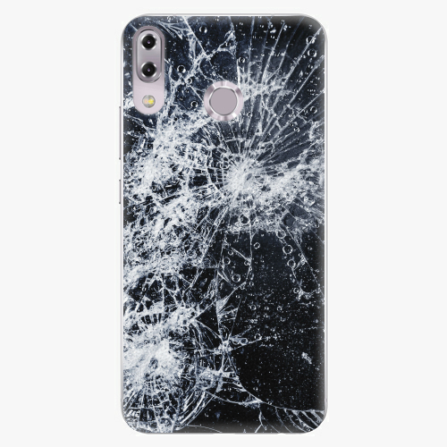 Plastový kryt iSaprio - Cracked - Asus ZenFone 5Z ZS620KL