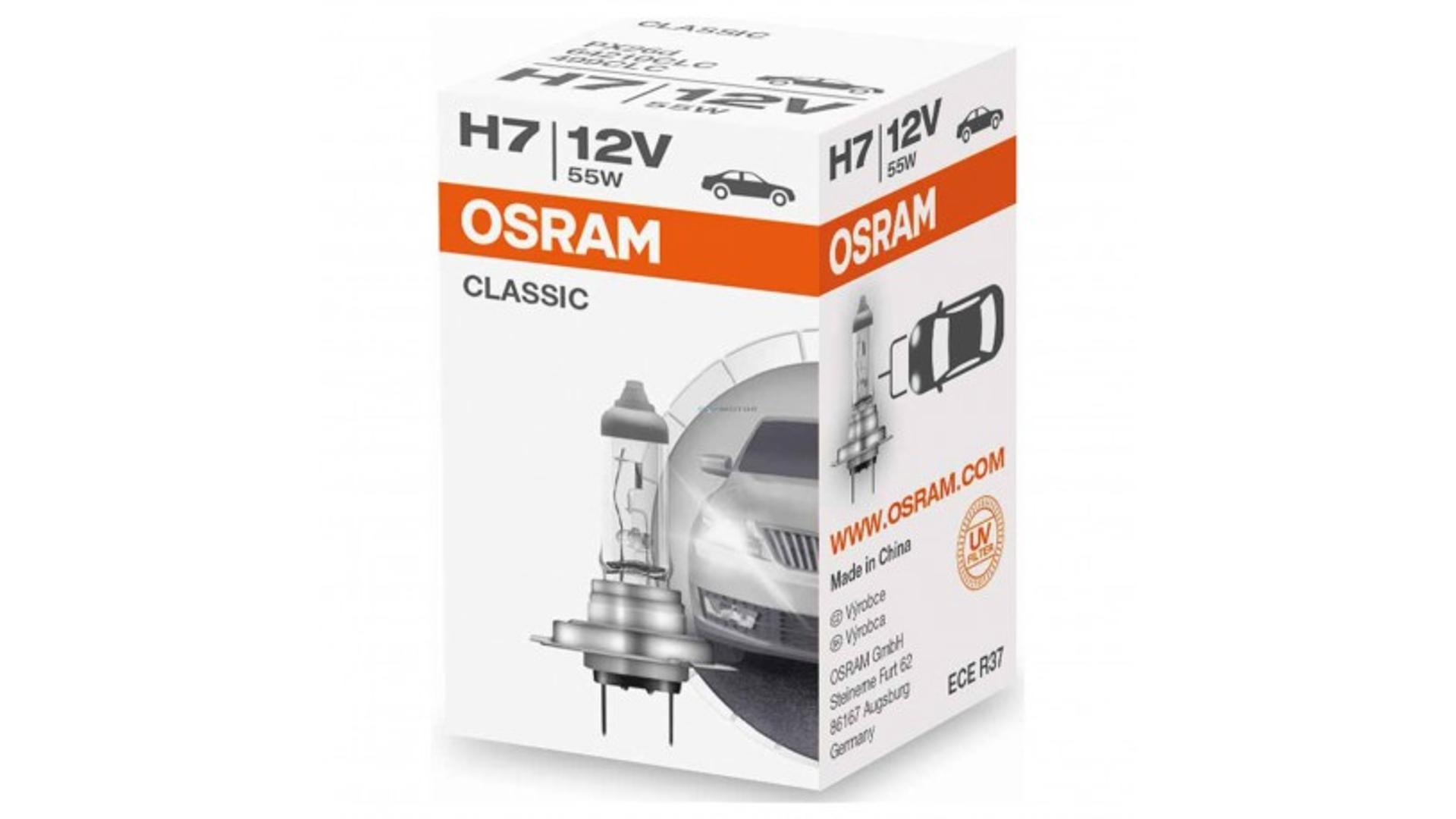 OSRAM Žárovka H7 12V 55W PX26D