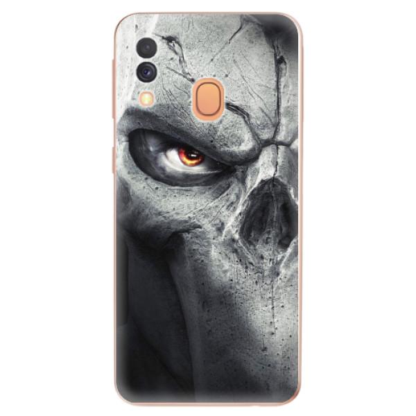 Odolné silikonové pouzdro iSaprio - Horror - Samsung Galaxy A40