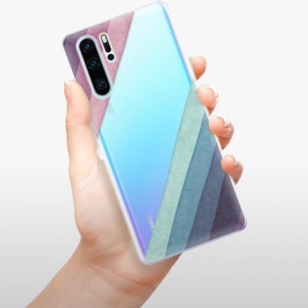 Odolné silikonové pouzdro iSaprio - Glitter Stripes 01 - Huawei P30 Pro