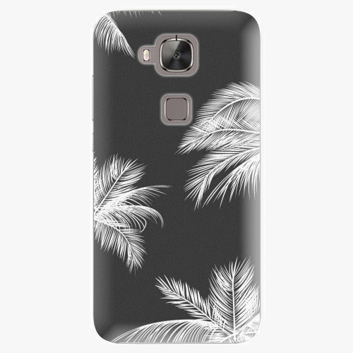 Plastový kryt iSaprio - White Palm - Huawei Ascend G8