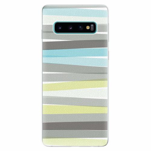 Silikonové pouzdro iSaprio - Stripes - Samsung Galaxy S10