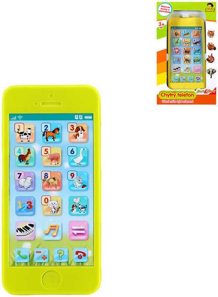 Telefon naučný s funkcemi Hrej si & Objevuj