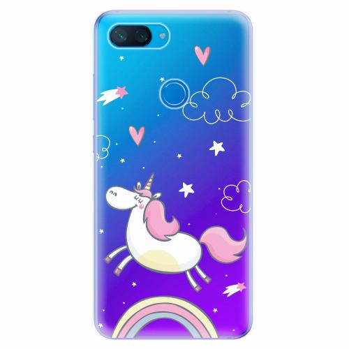 Silikonové pouzdro iSaprio - Unicorn 01 - Xiaomi Mi 8 Lite