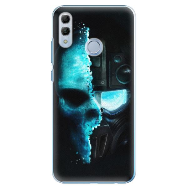 Plastové pouzdro iSaprio - Roboskull - Huawei Honor 10 Lite