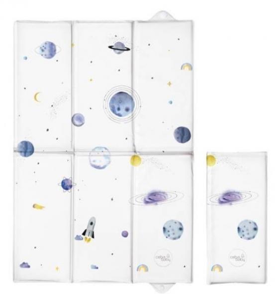 Ceba Baby Cestovní přebalovací podložka Vesmír, 60 x 40 cm