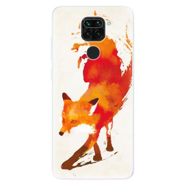 Odolné silikonové pouzdro iSaprio - Fast Fox - Xiaomi Redmi Note 9