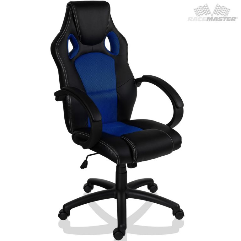 Otočná kancelářská židle MODRÁ GS Series