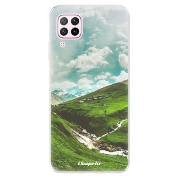 Odolné silikonové pouzdro iSaprio - Green Valley - Huawei P40 Lite