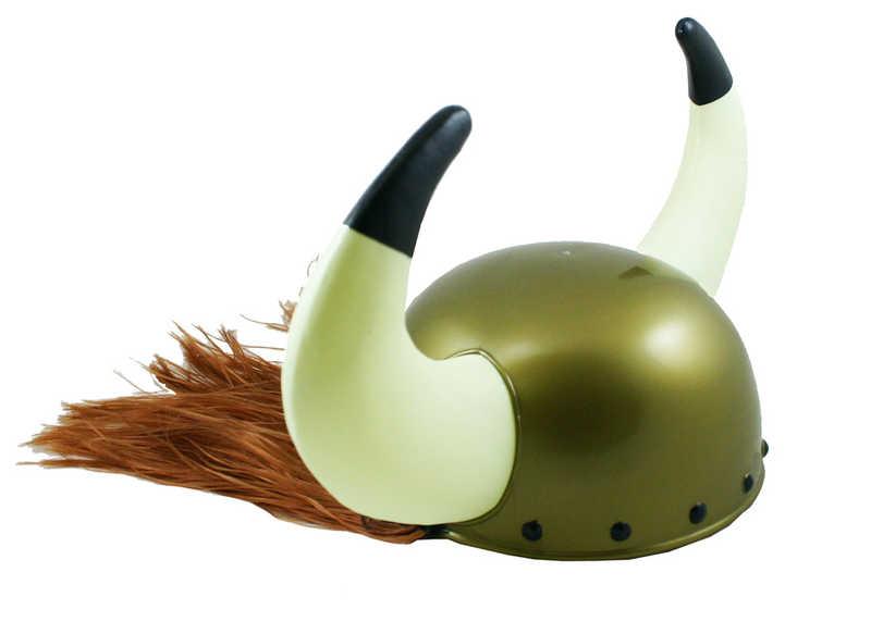 KARNEVAL Helma Viking plast vlasy KARNEVALOVÝ DOPLNĚK