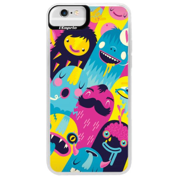 Neonové pouzdro Blue iSaprio - Monsters - iPhone 6 Plus/6S Plus