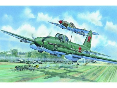 SMĚR Model letadlo Iljušin IL2 1:72 (stavebnice letadla)