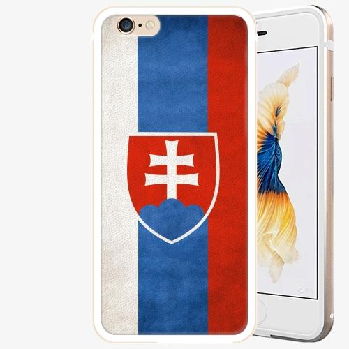 Plastový kryt iSaprio - Slovakia Flag - iPhone 6 Plus/6S Plus - Gold