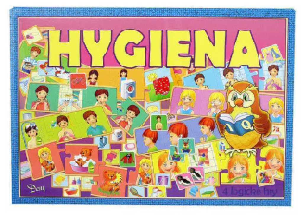HYDRODATA Hra Hygiena * SPOLEČENSKÉ HRY *