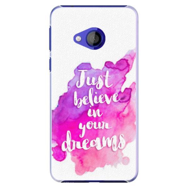 Plastové pouzdro iSaprio - Believe - HTC U Play